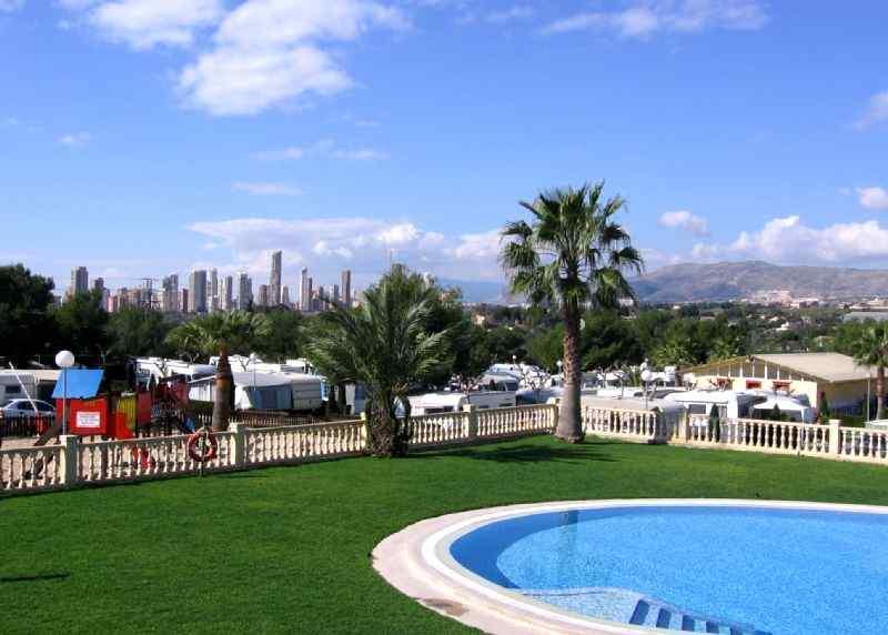 Popular REF 35  Caravan Sales Villamar Camping Benidorm