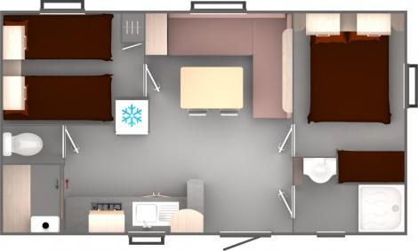 Trigano Evo 27 Floorplan