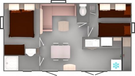 Trigano Evolution 29 Floorplan