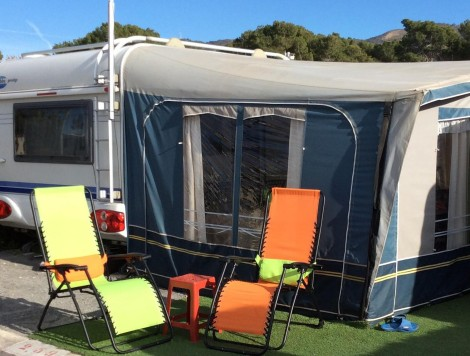 Caravans For Sale On Camping Raco In Benidorm