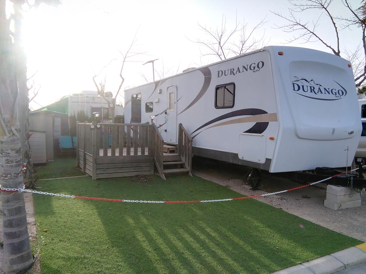 Durango Mobile Home For Sale On Camping Almafra Benidorm