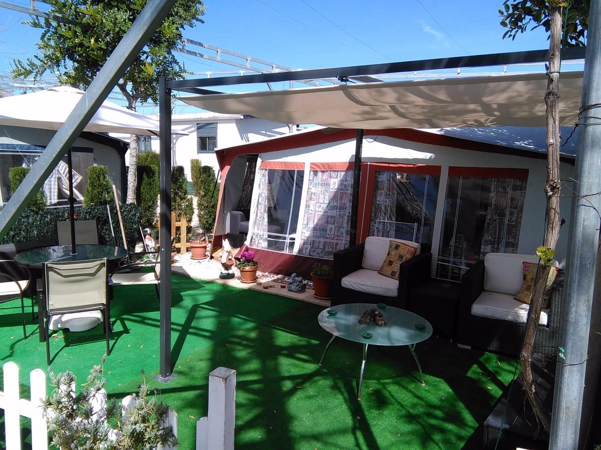 Hobby Caravan & Awning For Sale On Camping Almafra Caravan ...