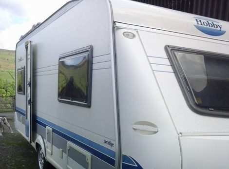 Hobby Caravan For Sale In Benidorm