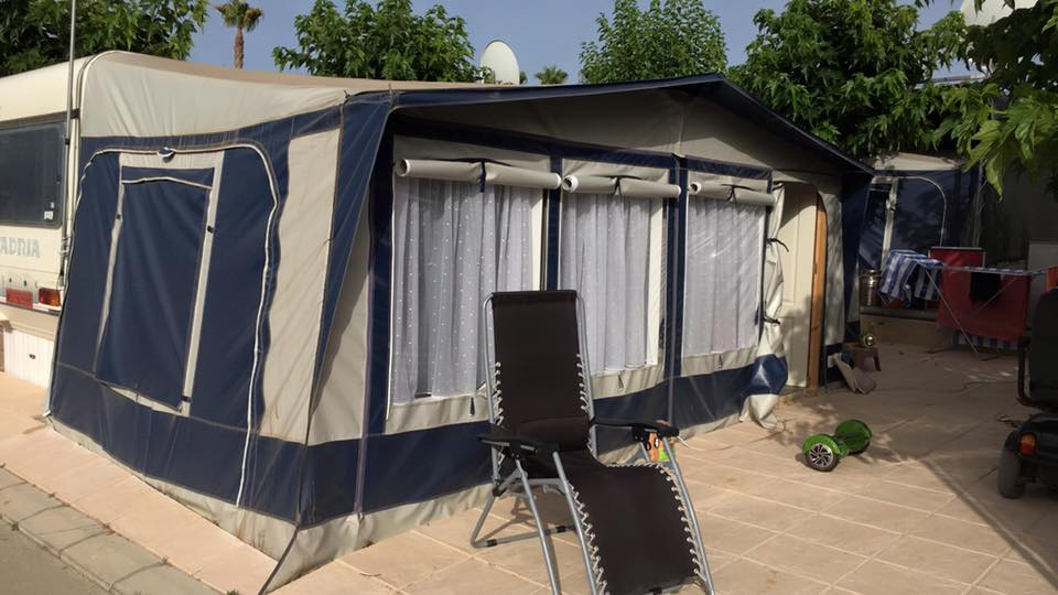 Model Caravan For Sale On Camping BenisolBenidorm Spain 5000  Benidorm