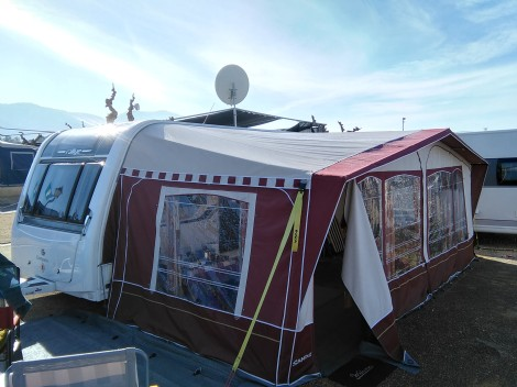Elegant Camping Villamar Roma Caravan For Sale 5  Benidorm Caravan Sales