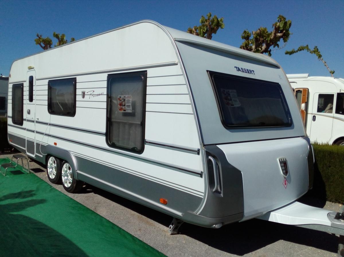 2012 2013 Tabbert Princess Caravan For Sale On Camping Raco Benidorm Costa Blanca Spain 13500