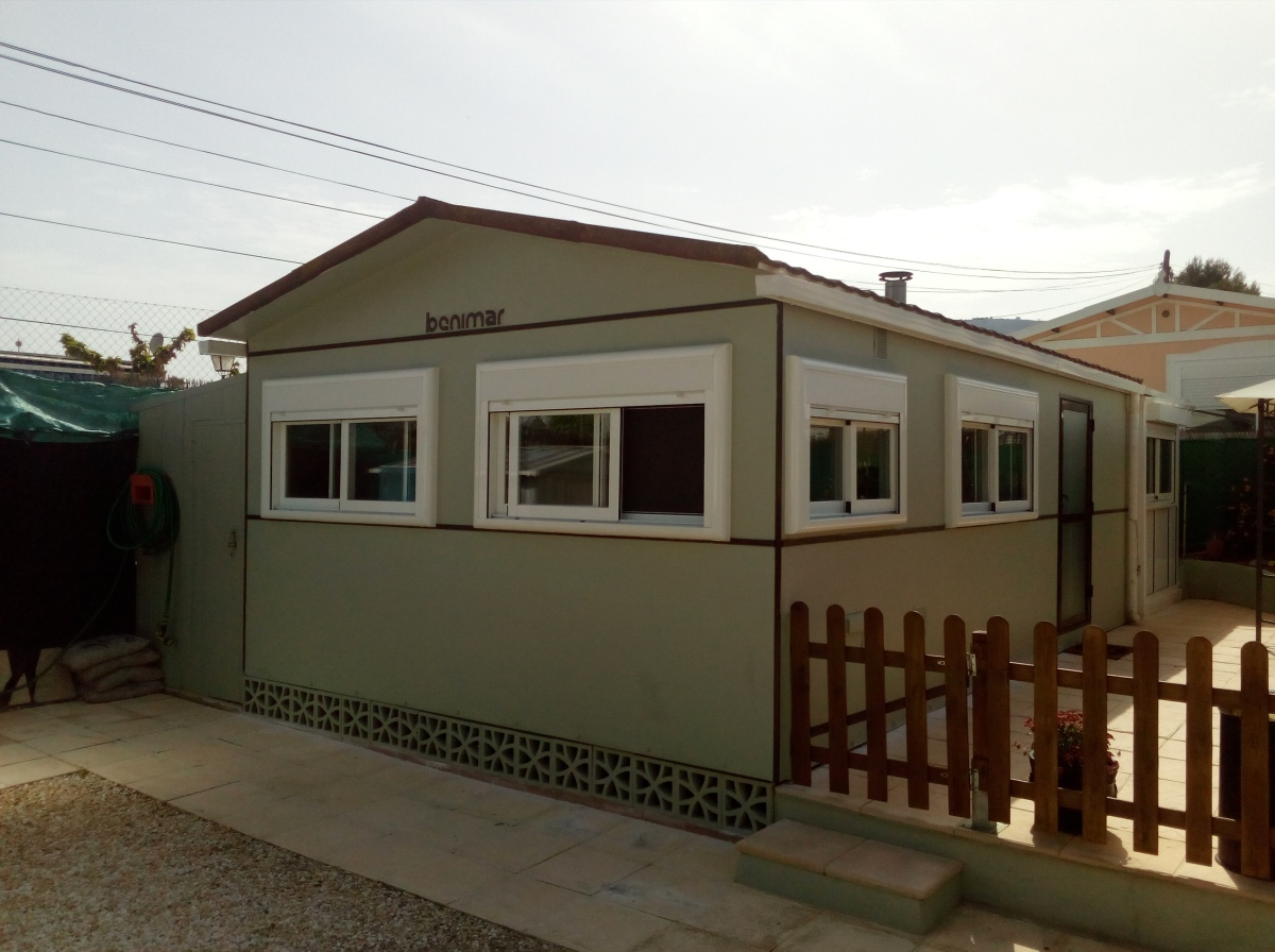 Benimar Mobile Home With Guest House For Sale On Camping