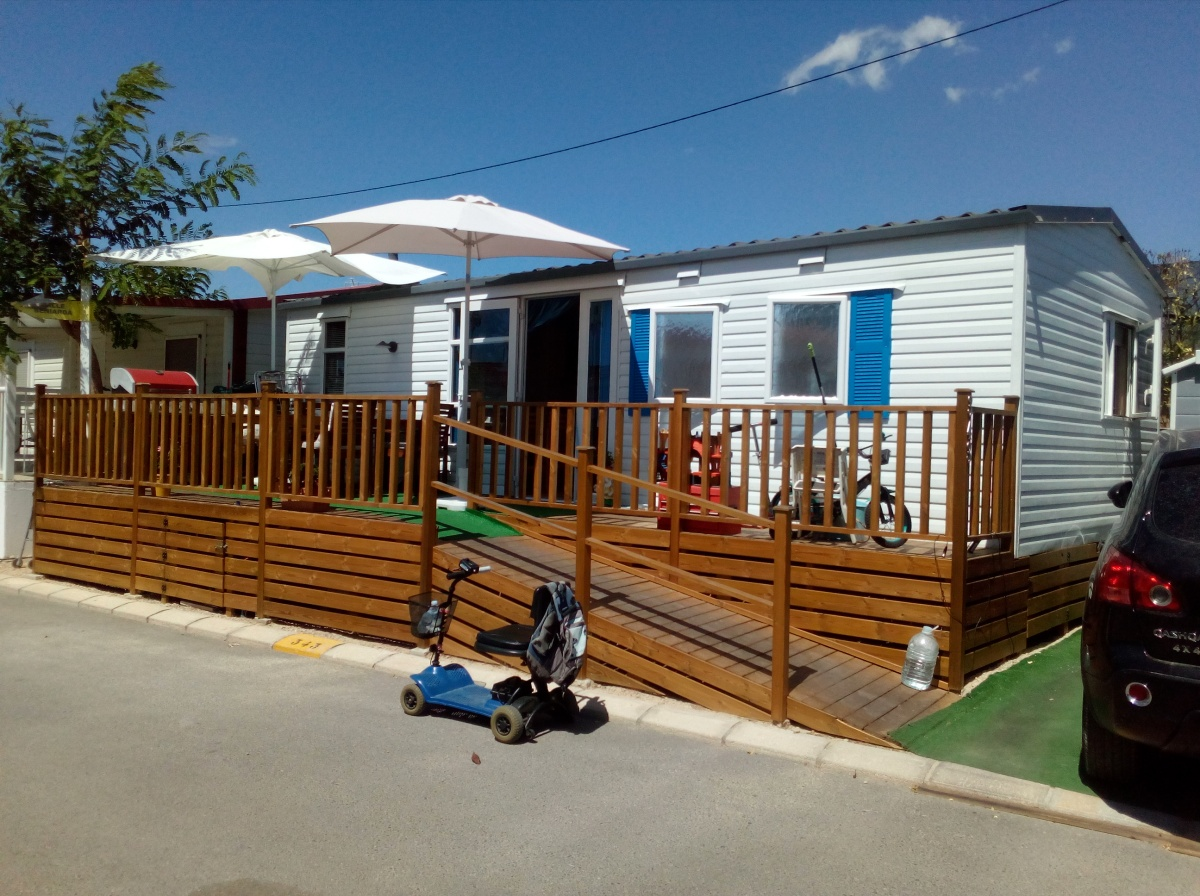 Atlas Tempo Mobile Home For Sale On Camping Almafra