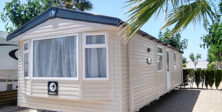 Brand New 2017 Swift Loire Mobile Home For Sale On Camping Almafra Caravan Park Benidorm Costa Blanca Spain 46995