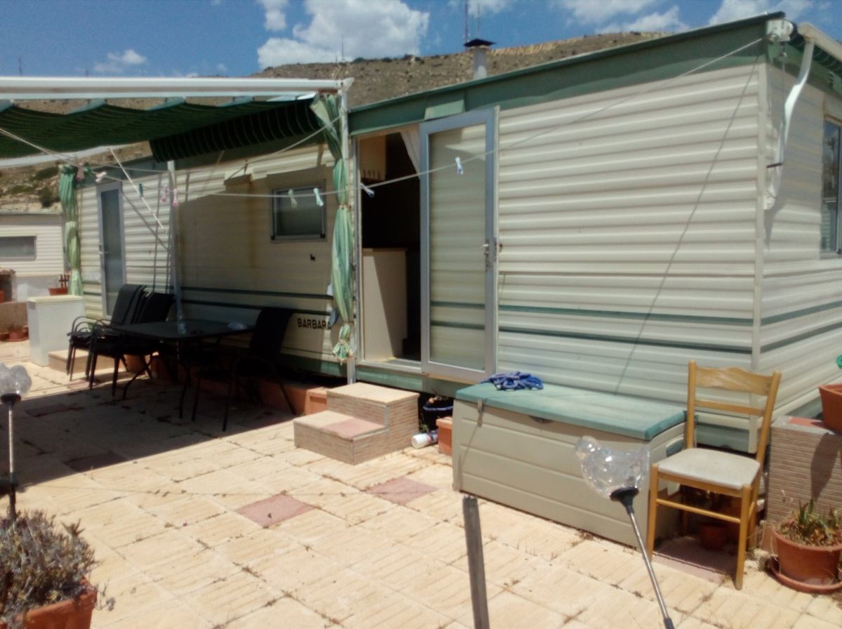 static caravan for sale on colmar mobile home park el campello costa blanca spain 9 000. Black Bedroom Furniture Sets. Home Design Ideas