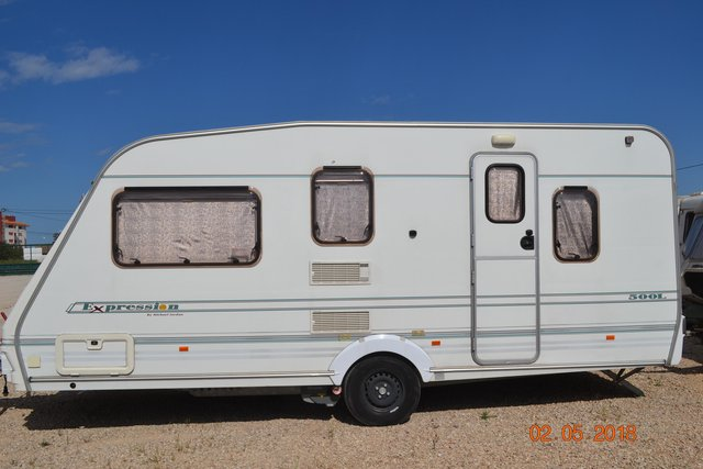 Abbey Expression 500l By Michael Jordan Touring Caravan