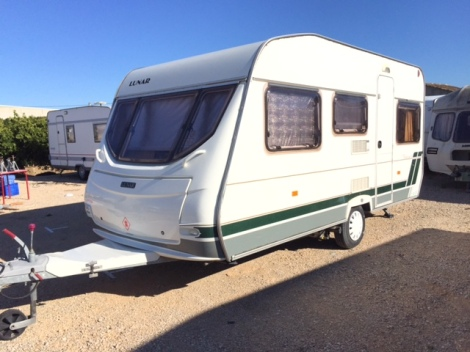 Lunar Chateau Touring Caravan For Sale In Javea Costa