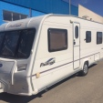 Pageant Burgundy touring caravan spain