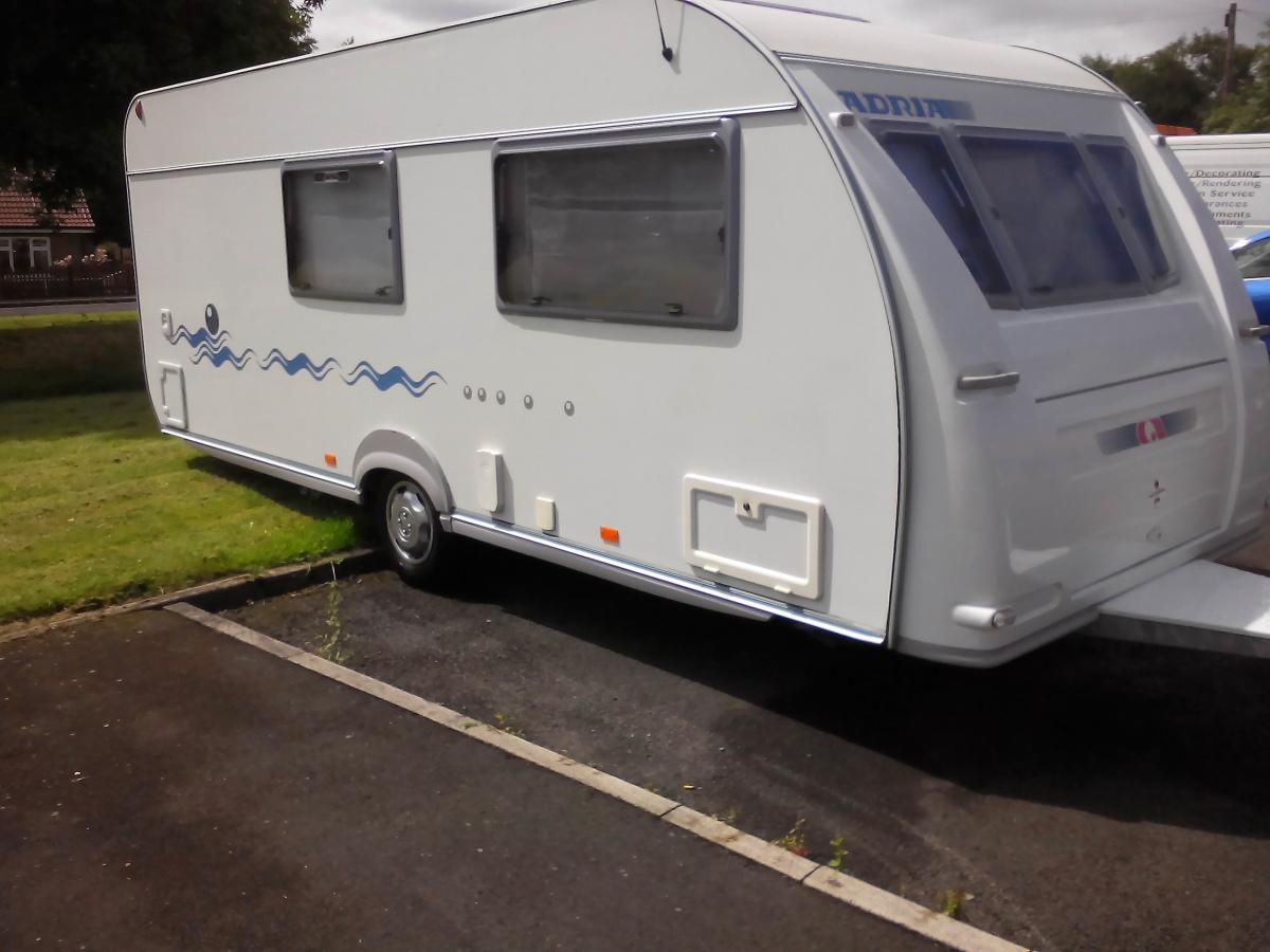 touring caravan for sale in benidorm costa blanca spain. Black Bedroom Furniture Sets. Home Design Ideas