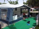 Touring Caravan and Awning La Torreta Benidorm