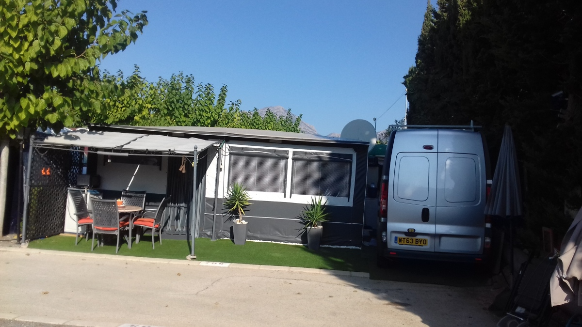 Tabbert Touring Caravan & Awning For Sale on Camping Raco ...