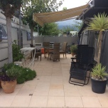 Caravan & Awning For Sale On Camping Villamar In Benidorm
