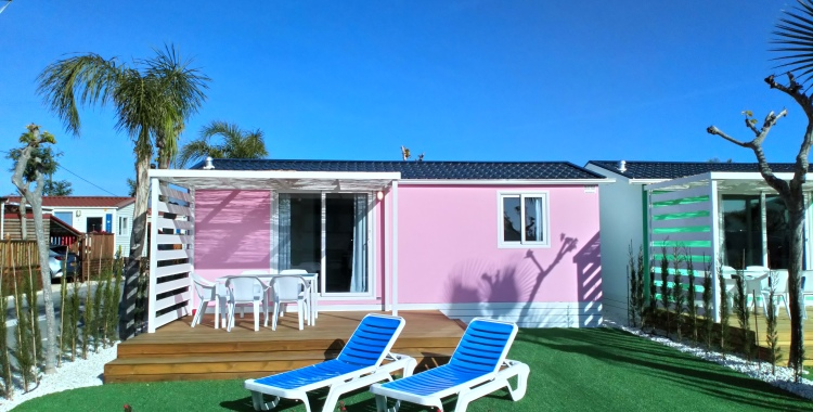 e7f86642d7772f Bungalows For Rent On Camping Almafra Resort In Benidorm