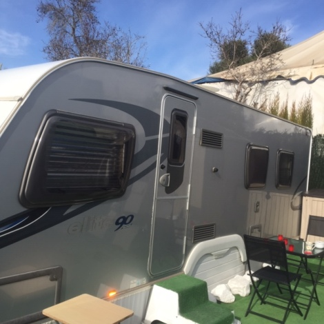 Sterling Elite Touring Caravan For Sale In Benidorm, Costa Blanca