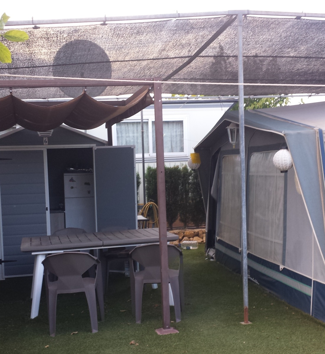 Touring Caravan & Awning For Sale On Camping Benisol ...