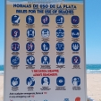 Benidorm Beach Rules
