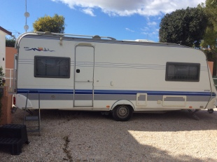 Hobby Prestige Touring Caravan For Sale in Torrevieja
