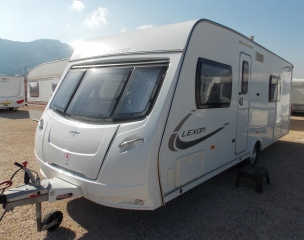 Lunar Lexon Touring Caravan For Sale In Javea