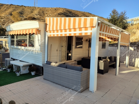 CAMPING COLMAR EL CAMPELLO RESALE MOBILE HOME SALES, SPAIN